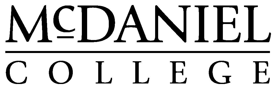 McDaniel徽标