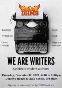 author event flyer