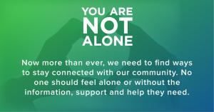 Você não está sozinho